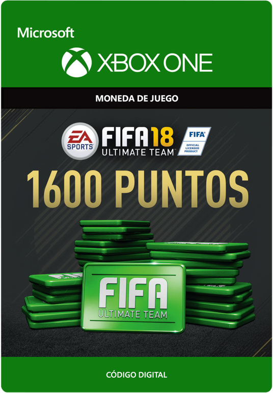 FIFA 18 Points Pack De 1600