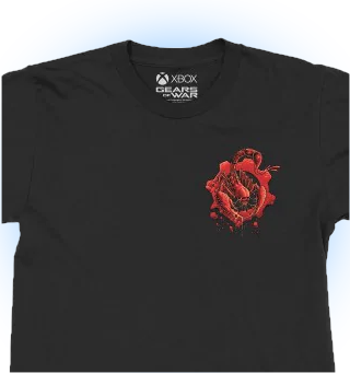Playera GoW Hivebusters (Xbox Official Gear) Talla Large/Grande