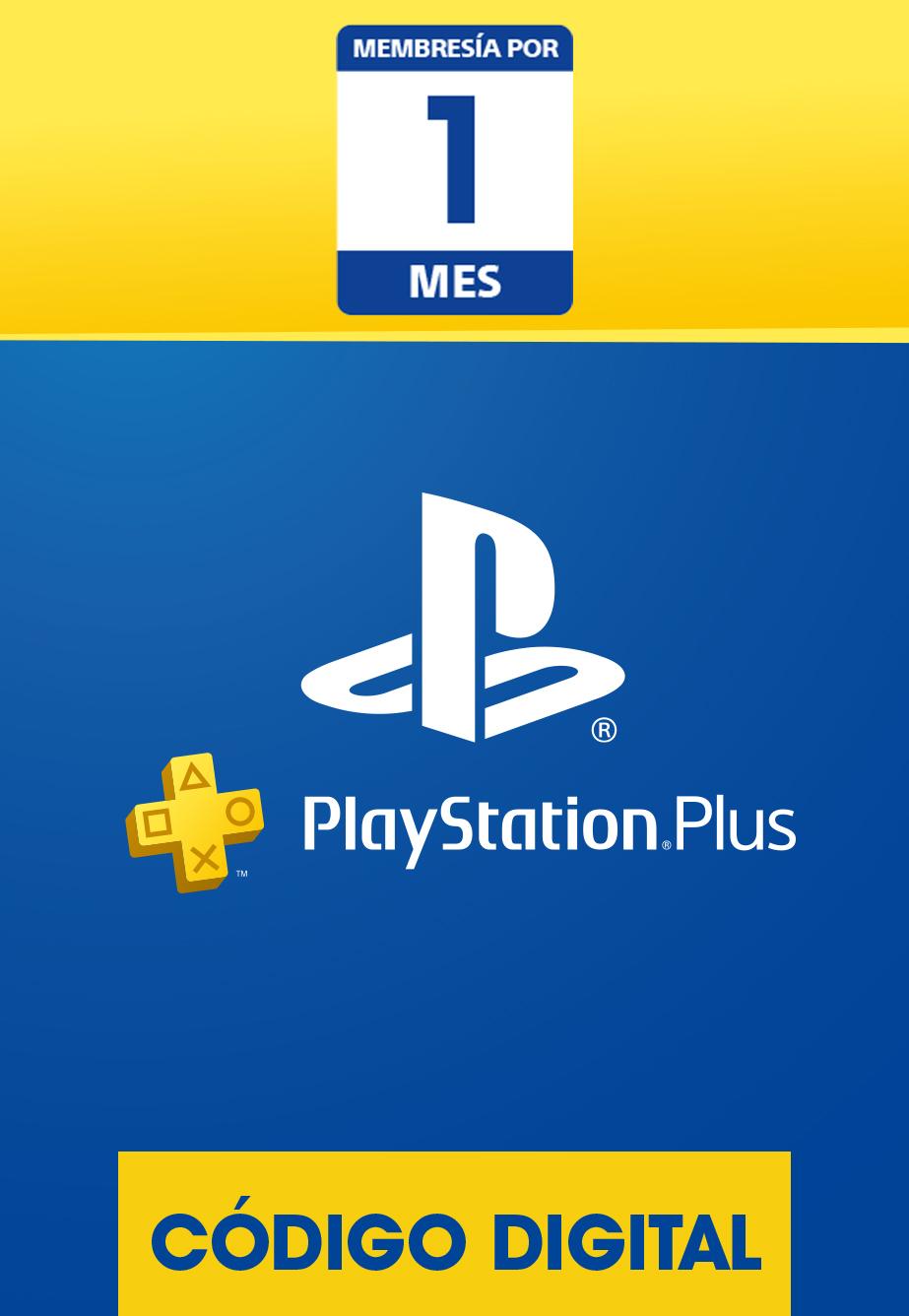 Membresía PlayStation Plus de 1 Mes