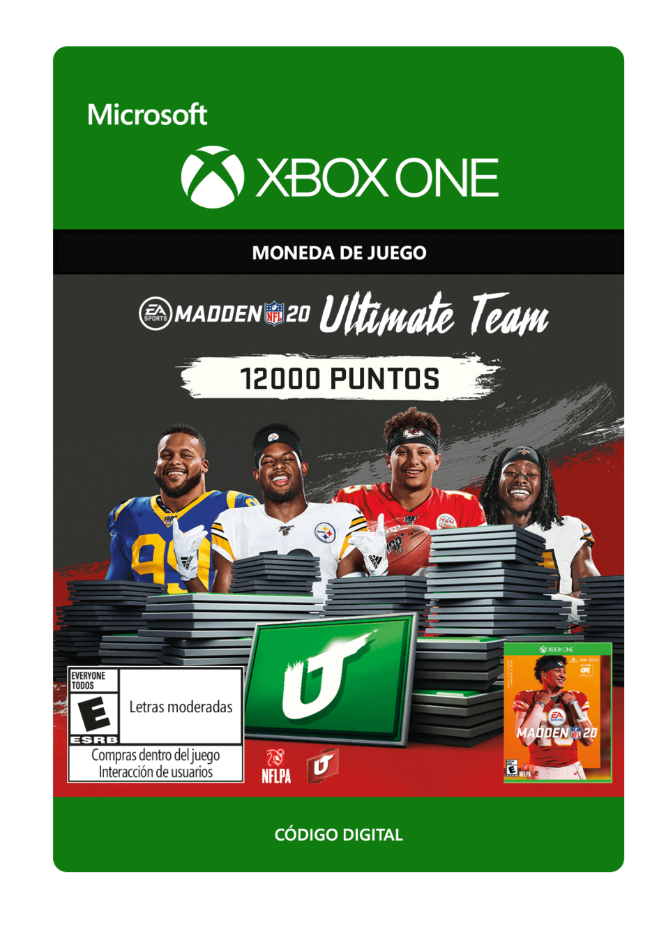 Madden NFL 20: MUT 12000 Madden Points Pack