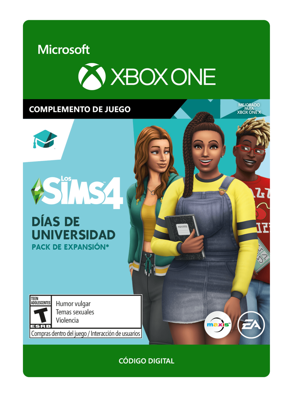 The Sims 4: University Días de Universidad DLC