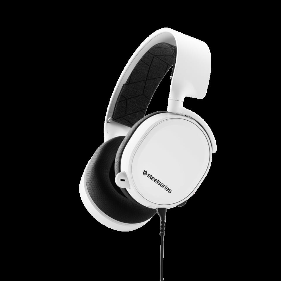 Audífonos Arctis 3 White (2019 Edition)