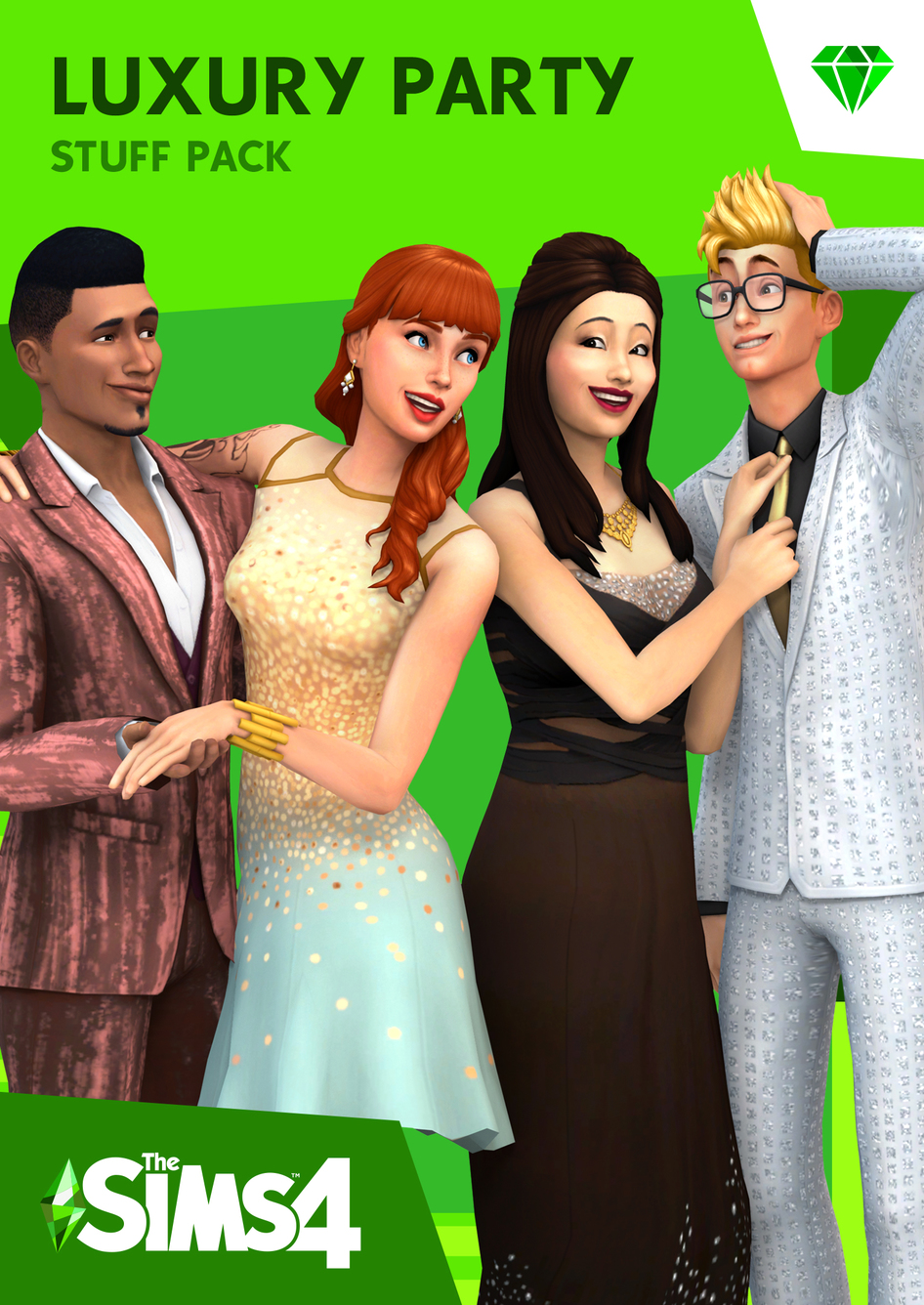 The Sims 4 Luxury Party Stuff Pack - Origin