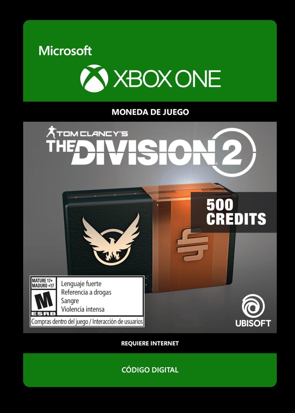 Tom Clancys The Division 2: 500 Premium Credits Pack
