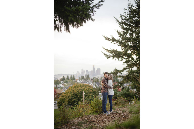 Clara Ganey & Joshua Lynch, Jefferson Park, Seattle