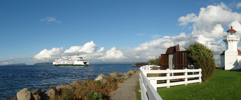Mukilteo-Clinton Ferry & Lighthouse