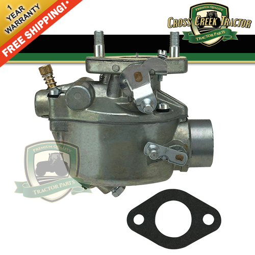 Ford 8n Carburetor Parts : N c marvel schebler new ford tractor carburetor for