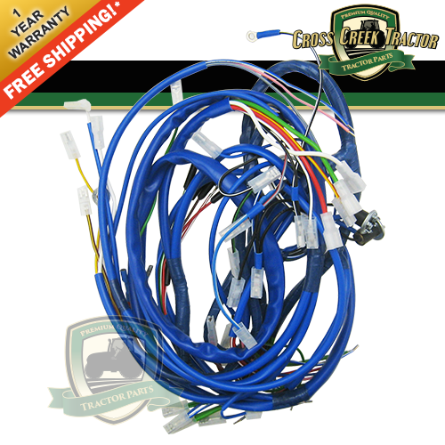 Details about C9NN14A103C NEW Front Wiring Harness FORD 5600, 6600, on ford truck wiring diagrams, ford f150 wiring diagram, ford computer harness, ford ranger 2.9 wiring-diagram, ford ecm, ford f550 wiring-diagram, ford engine diagram, ford coil harness, ford 5.4l 3v engine, ford electrical wiring diagrams, ford galaxie engine, ford 5.0 fuel injection harness, ford wiring harnesses, ford 6.0 engine harness, ford fuel fitting, ford engine filter, ford f550 engine, ford air bag module, ford engine sensors, ford focus wiring diagram,