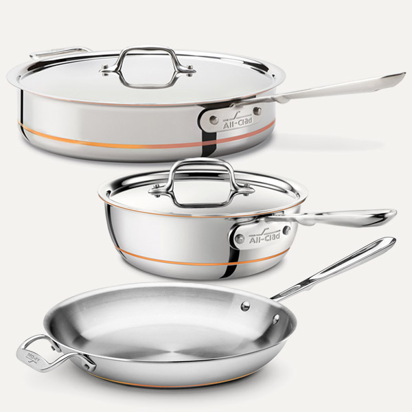 All-Clad Copper Core Cookware