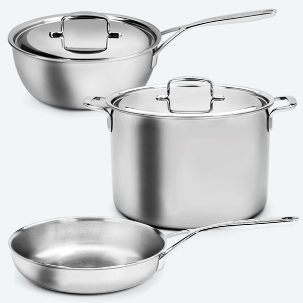 Demeyere 5-Plus Stainless Cookware