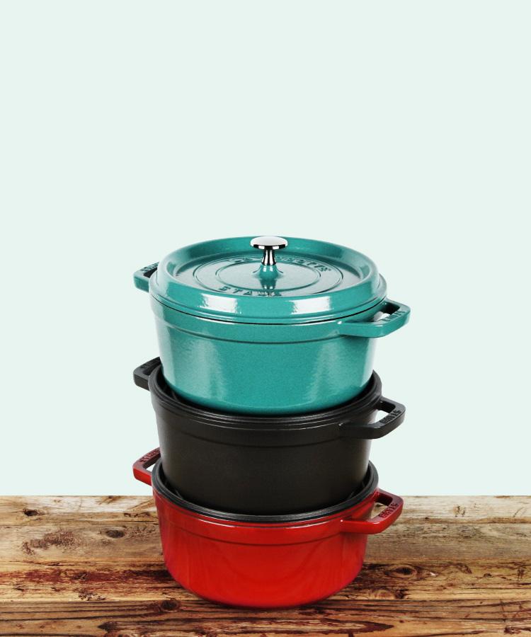 Staub 4-quart Round Dutch Ovens on Sale