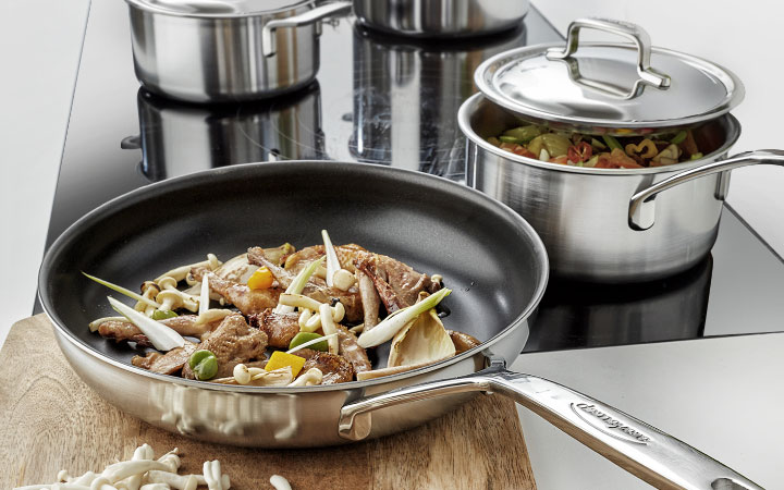 Demeyere 5-Plus Stainless Steel Cookware, Made in Belgium