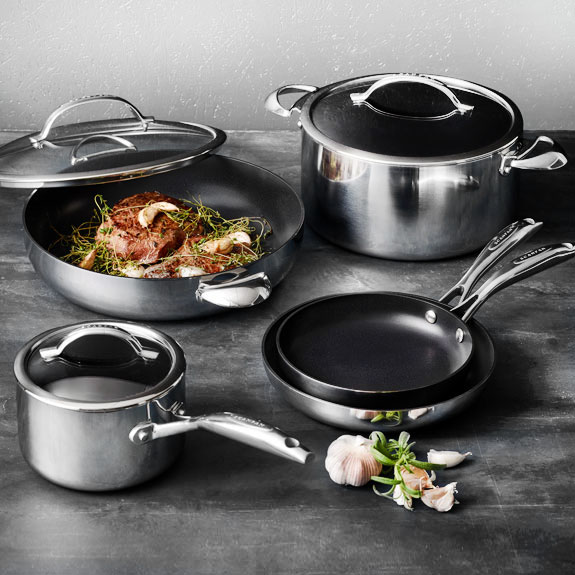 Scanpan HaptIQ Stainless Steel Nonstick Cookware
