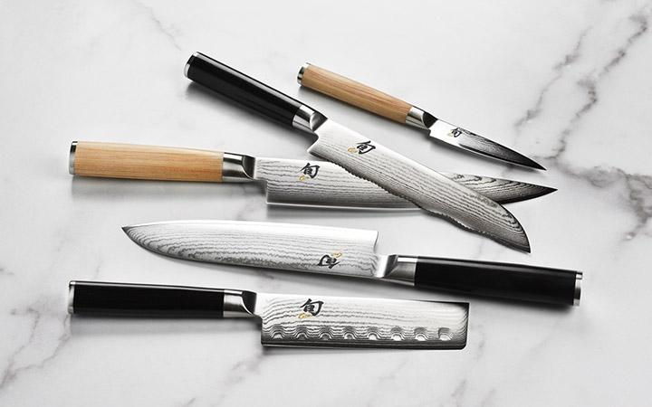 Shun Classic 6-inch and 8-inch Kiritsuke Knives