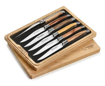 Zwilling J.A. Henckels 8-Piece Stainless Steel Steak Knife Set with Case