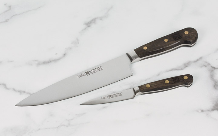 Wusthof Crafter 8-inch Chef's Knife and 3.5-inch Paring Knife
