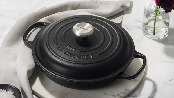 Le Creuset Braisers and Paella Pans