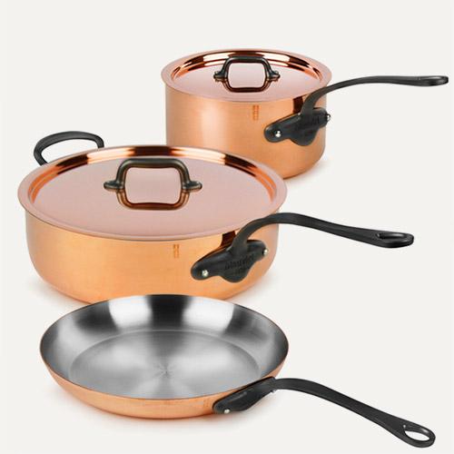 Mauviel M'heritage Copper 150C2 Cookware