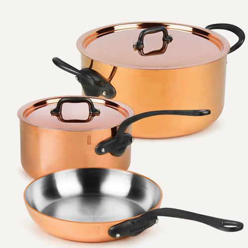 Mauviel M'heritage Copper 250C Cookware