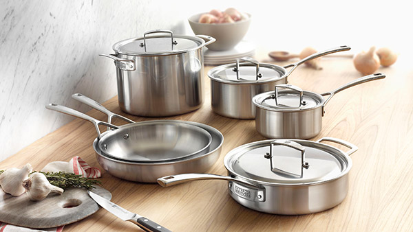 Zwilling J.A. Henckels Aurora Stainless Steel Cookware