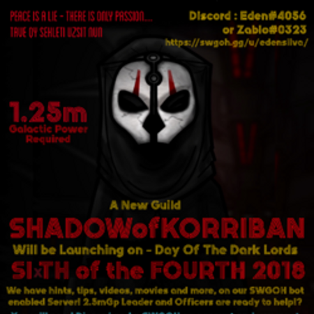 SHADOWofKORRIBAN's Star Wars Galaxy of Heroes forums - all