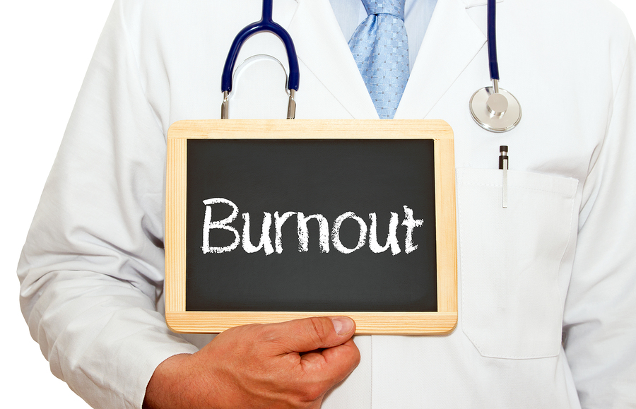 healthcare professional burnout