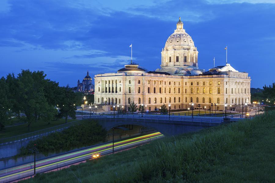 Minnesota State Capitol Building-reinsurance programs