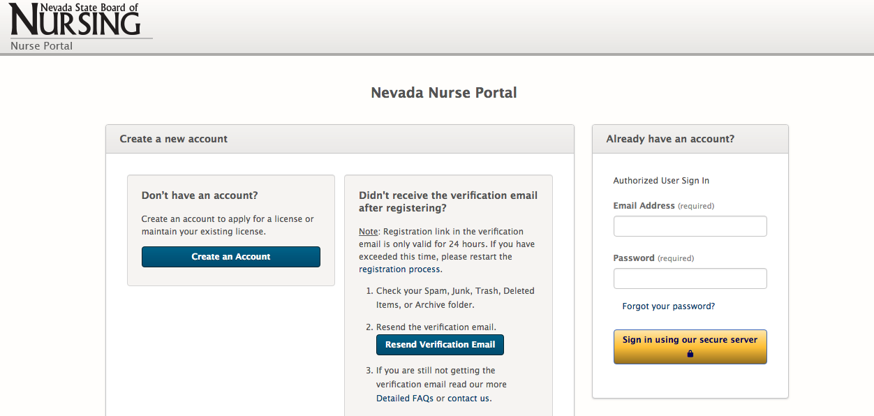 Nevada Nurse Portal Launched To Update 'Antiquated' License System