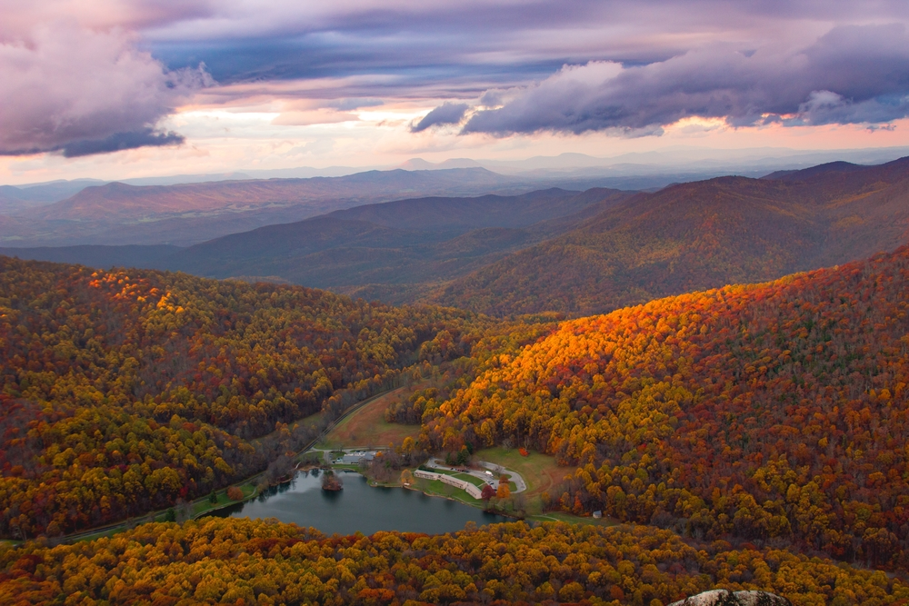 Virginia-Mountains-2018 fall getaways