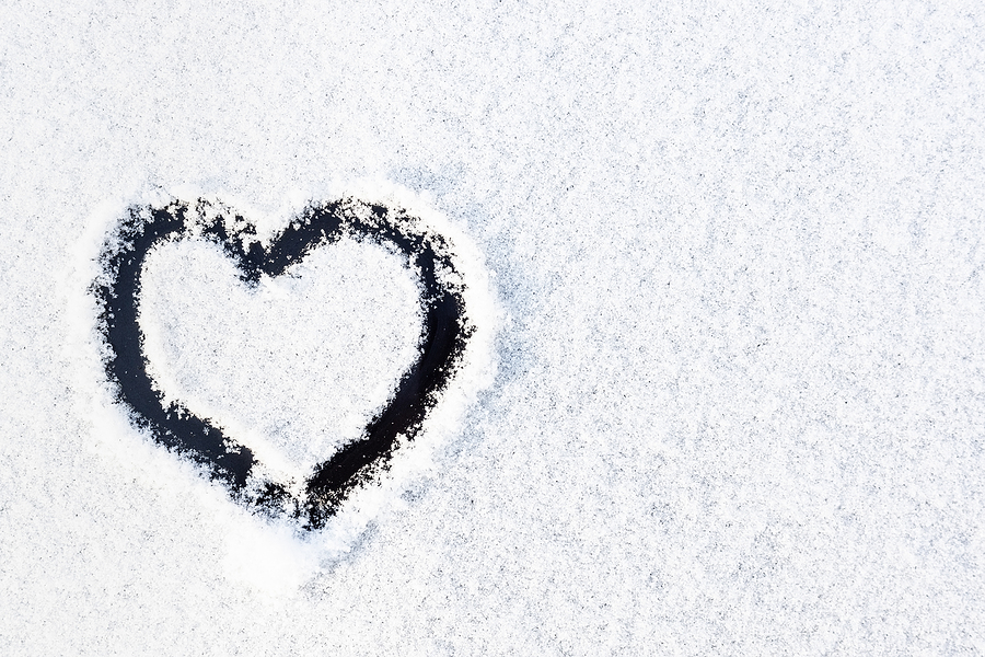 travel healthcare jobs feb 11-valentines day-heart-snow-car