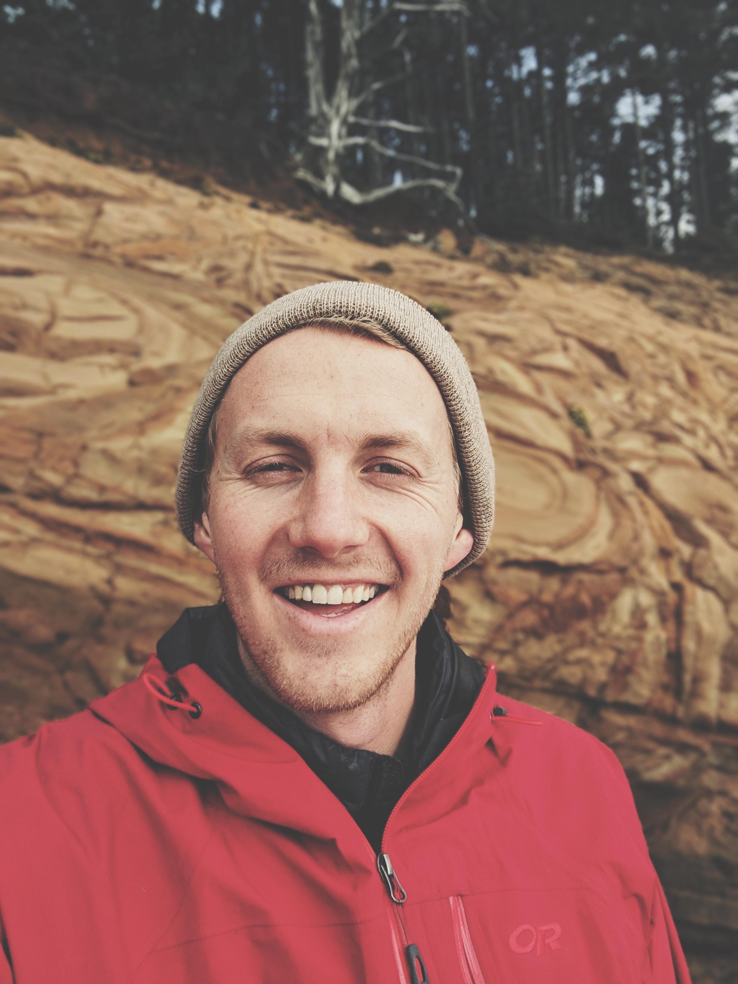 Nate hemann-travel nurse van life-Southern Oregon Coast-cape sebastian