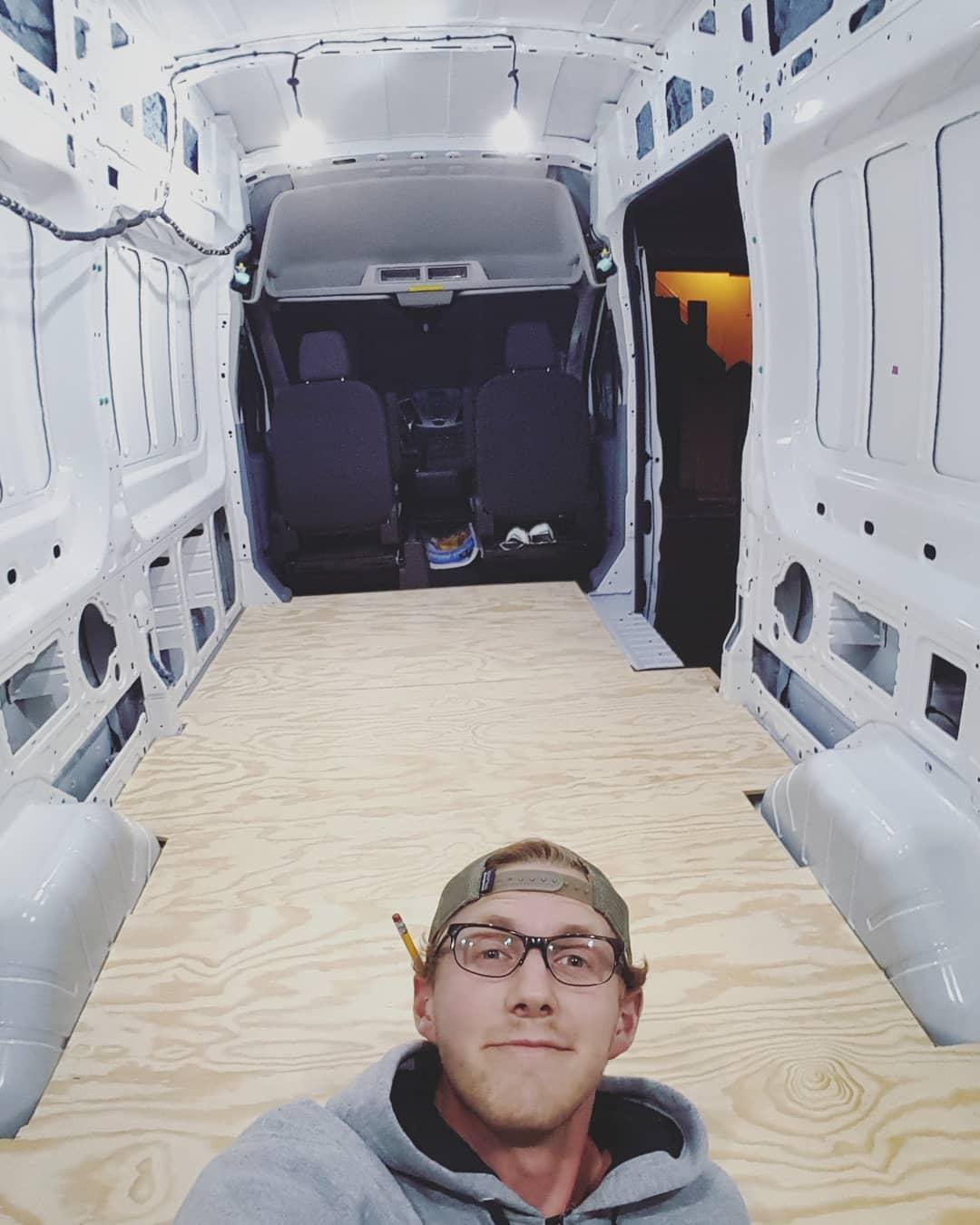 Tall Man Van-Van conversion-tiny home
