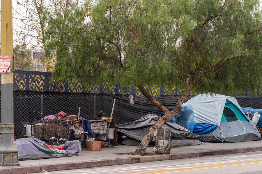 Los Angeles-California-homeless-california hospitals homeless