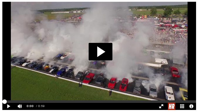 Did We Just Do a World Record Burnout  See the Video