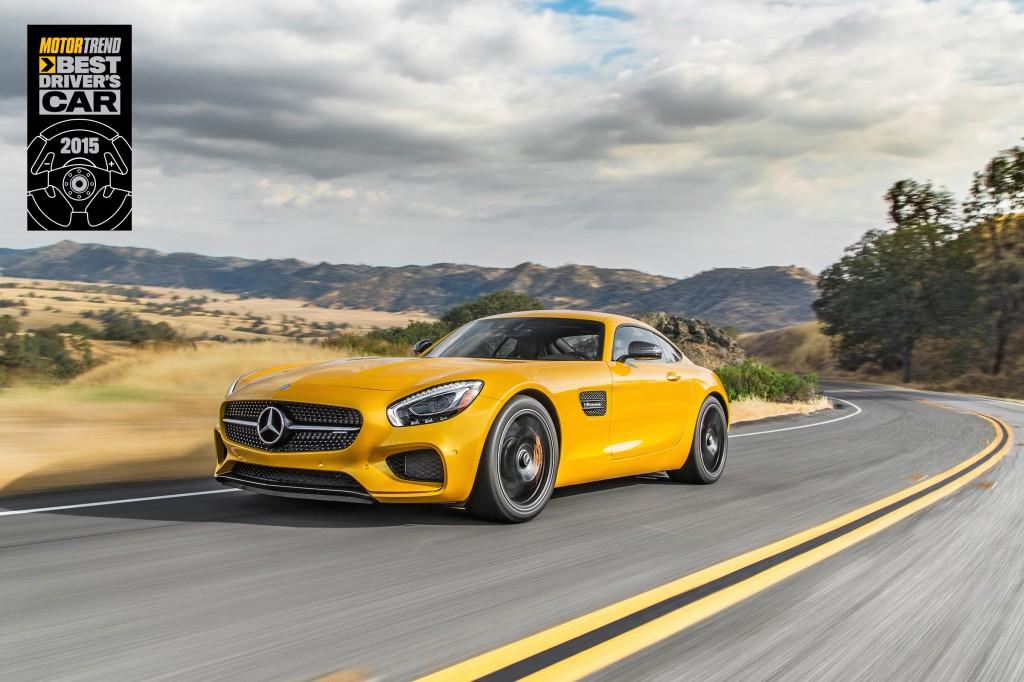 motor trend 2019 best driver\'s car MOTORTREND Names Mercedes AMG GT S 2015 Best Driver's Car