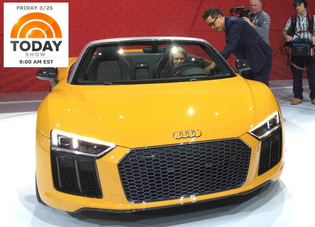 Motortrend S Ed Loh Shows Off New York Auto Show Best Cars On The Today