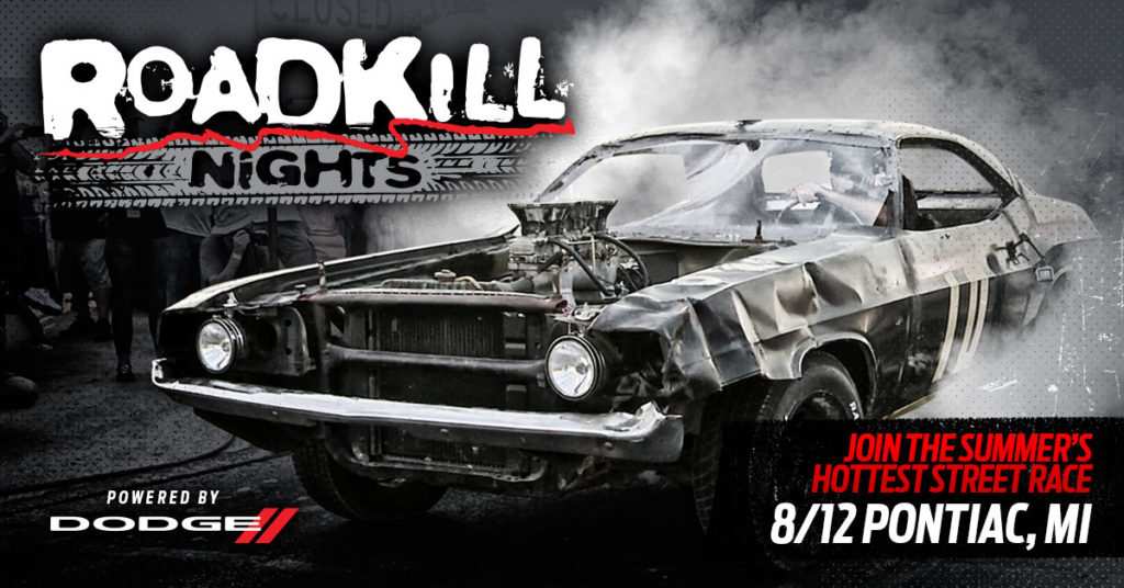 Legal Street Drag Racing Registration Now Open for 'Roadkill