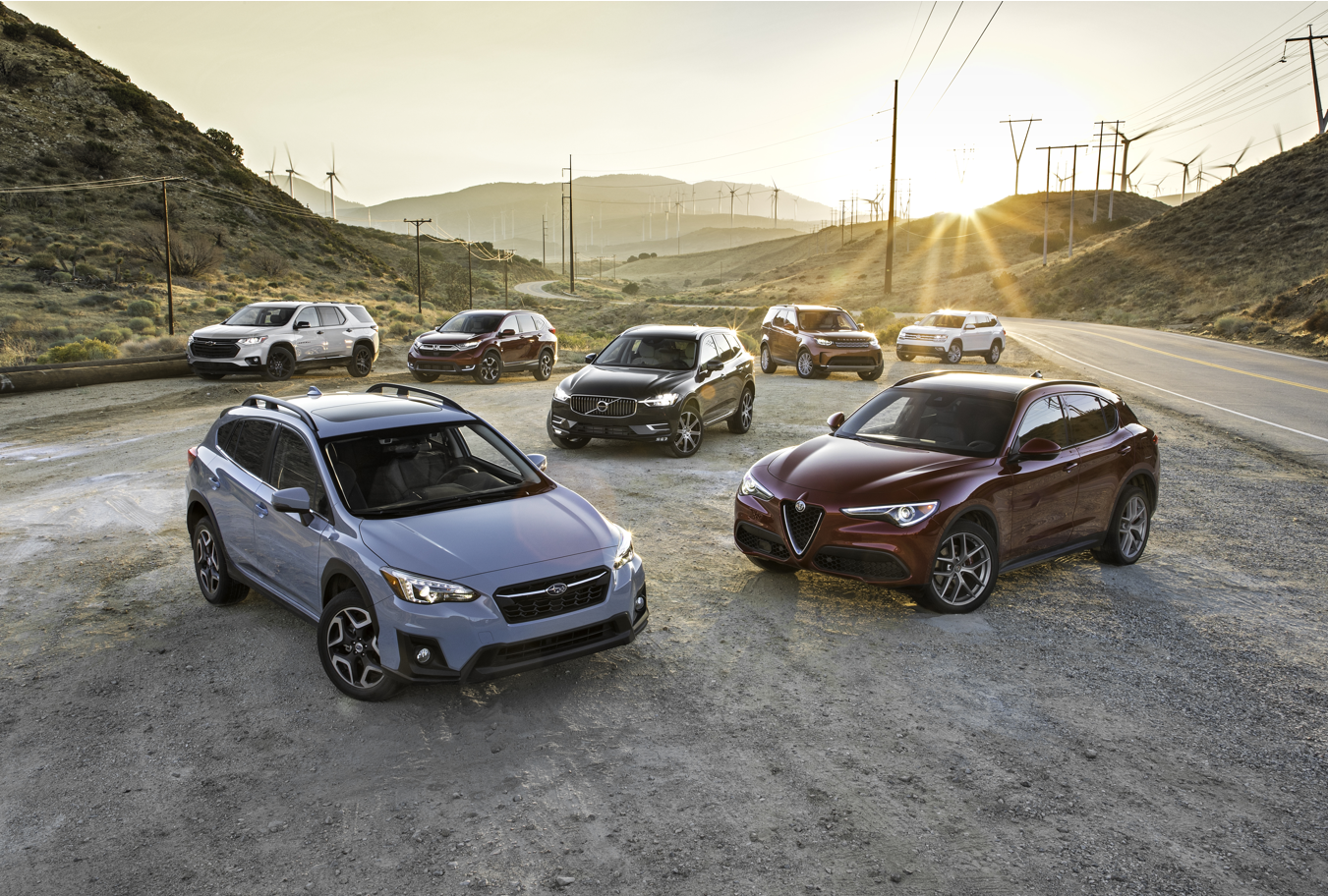 SUV of the Year Finalists