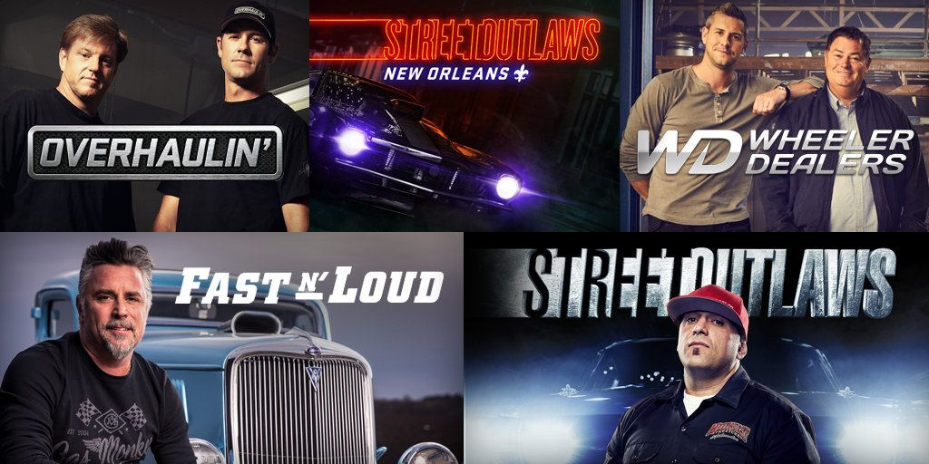 """Discovery and Velocity Get """"Fast N' Loud"""" on MotorTrend"""