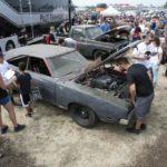 old car engine