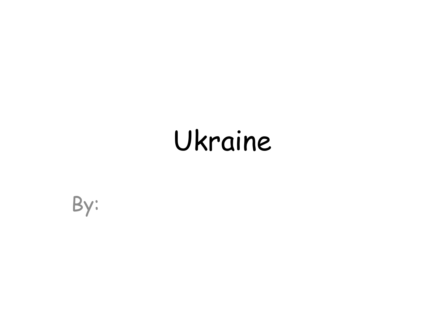 Ukraine Powerpoint Project Resource Preview