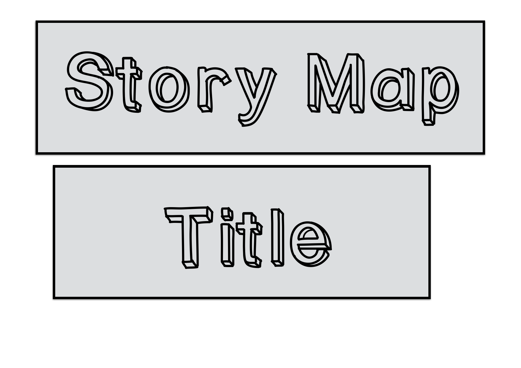 Story Map Graphics Resource Preview