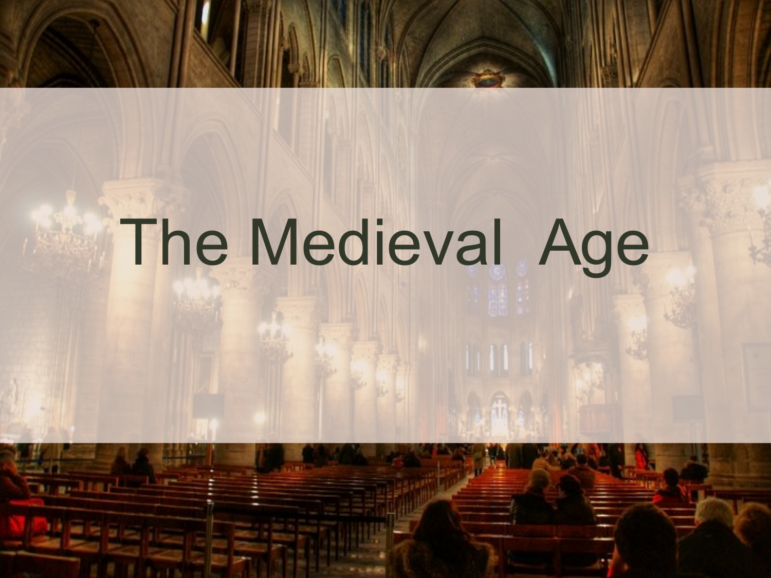 The Medieval Age Resource Preview