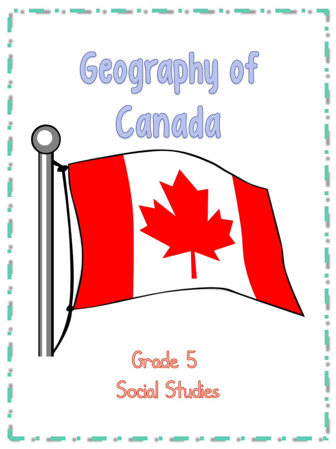Geography of Canada Provinces Territories Capital Cities Resource Preview