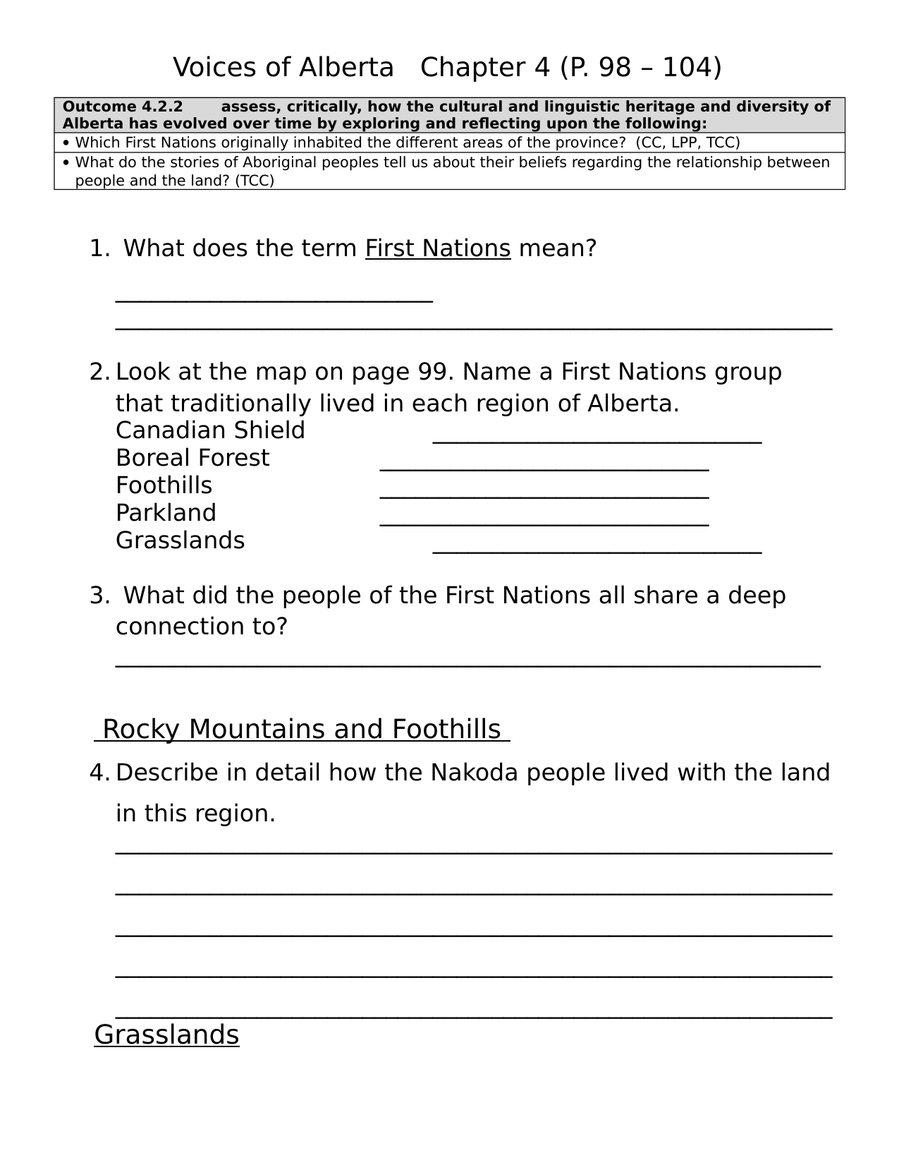 Voices of Alberta Chapter 4 Resource Preview
