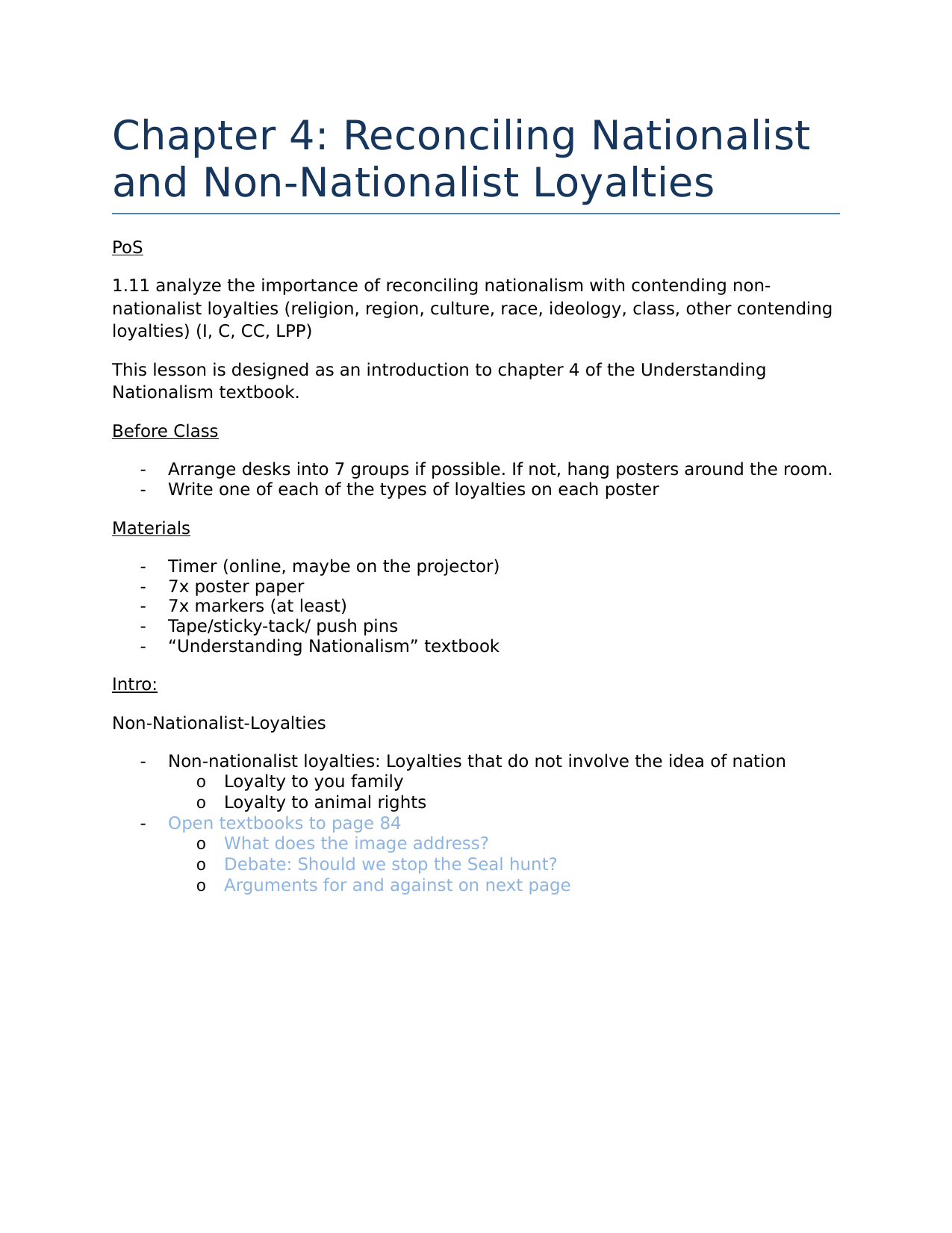 Social 20 2  intro to reconciling nationalist and non nationalist loyalties Resource Preview