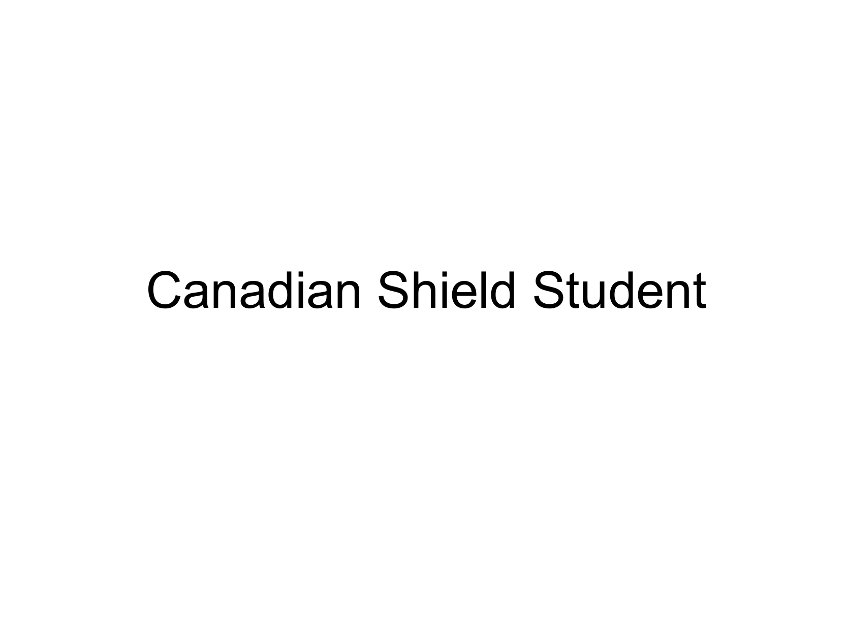 Grade 5 Regions Project Canadian Shield Student Copy Resource Preview