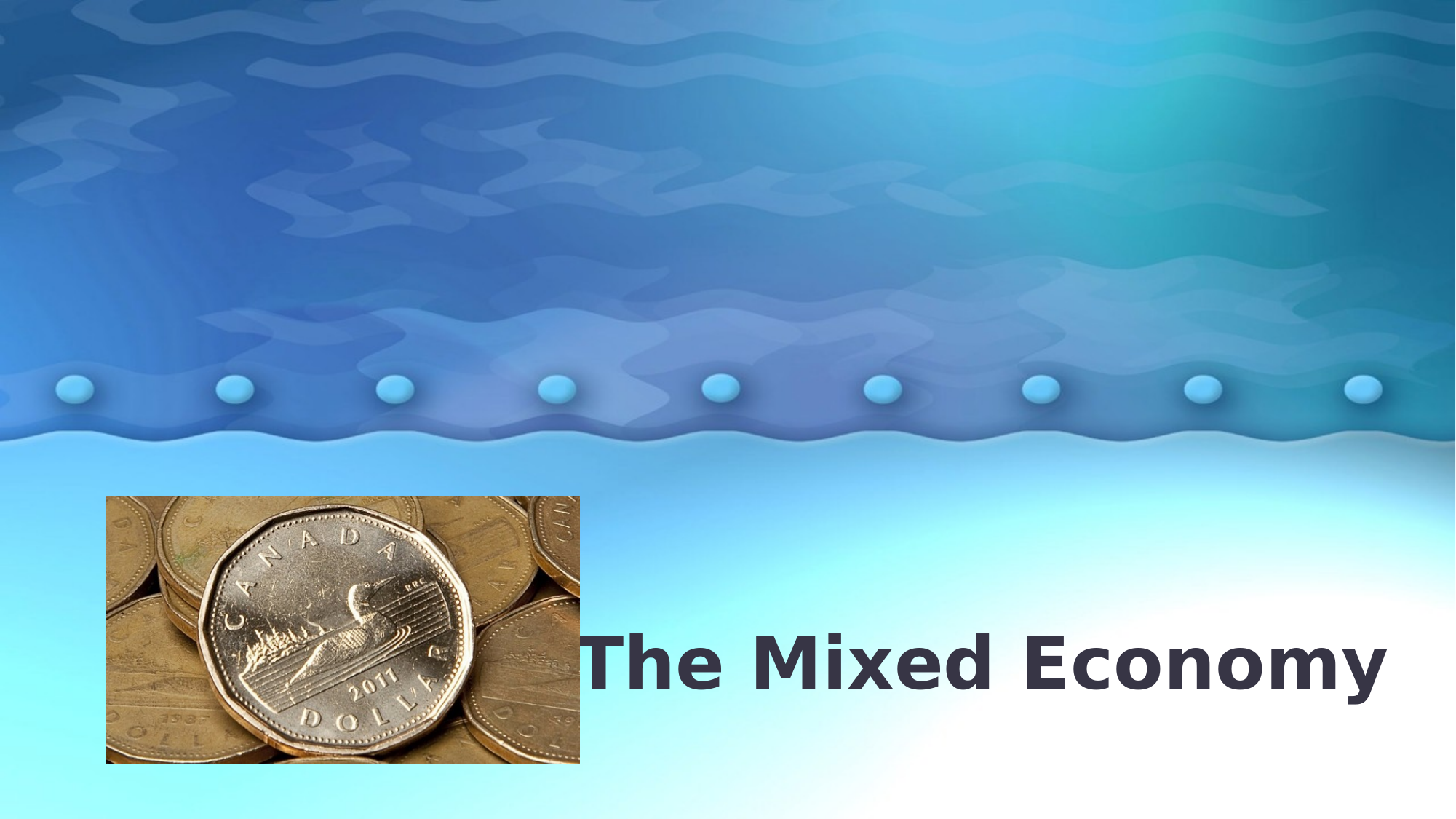 The Mixed Economy Lesson Resource Preview