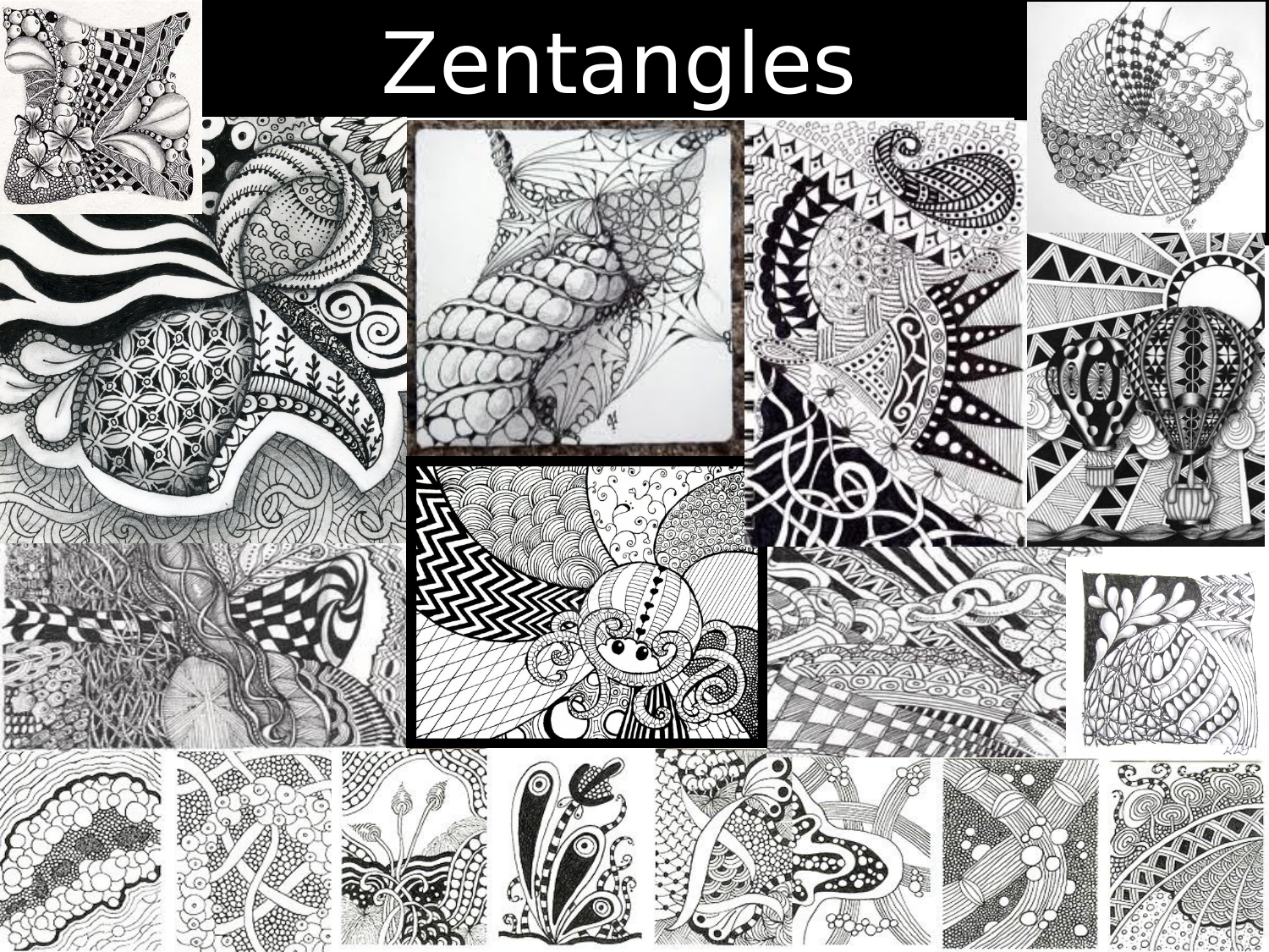 Zentangle Booklet  Resource Preview