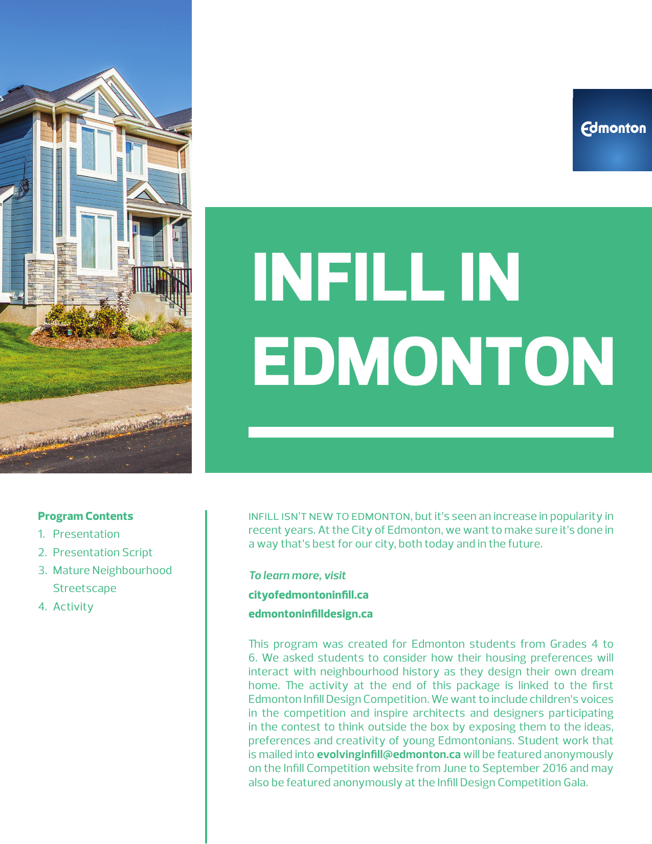 Infill in Edmonton Resource Preview